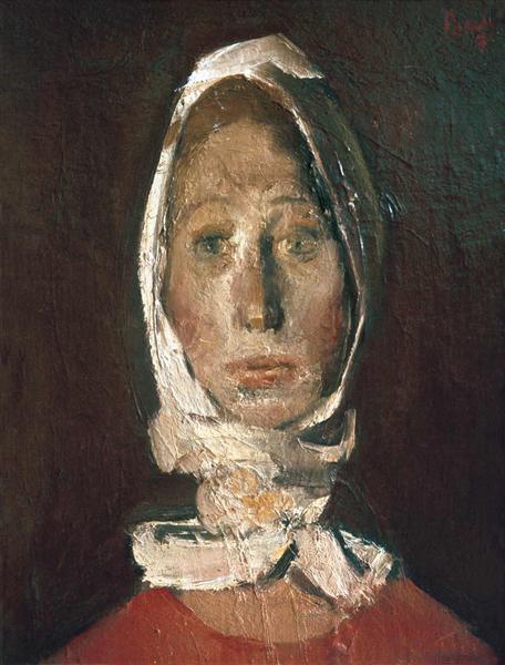 Portrait of a Girl, 1974 - Corneliu Baba