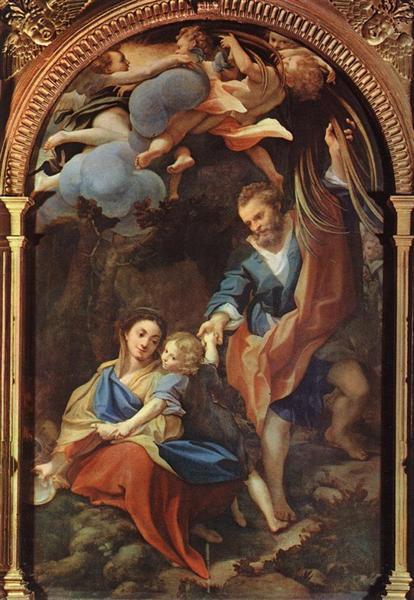 Madonna della Scodella, 1525 - 1530 - Correggio
