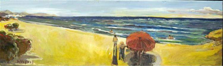 At the beach - Costas Niarchos