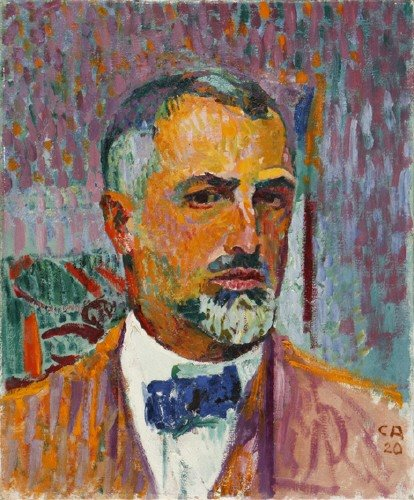 Self-Portrait, 1920 - Cuno Amiet