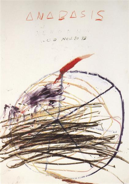 Anabasis (Xenephon), 1983 - Cy Twombly