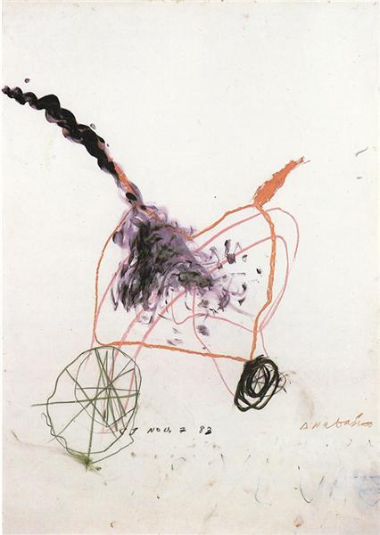 Anabasis, 1983 - Cy Twombly