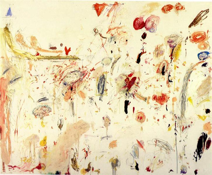 Untitled, 1961 - Cy Twombly