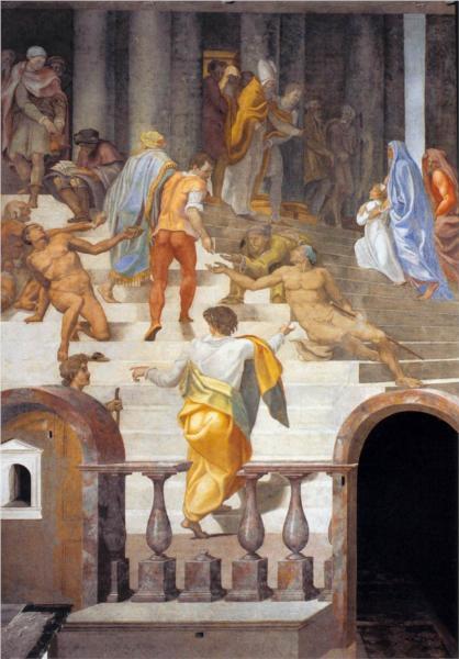 The Presentation of the Virgin, 1555 - Daniele da Volterra