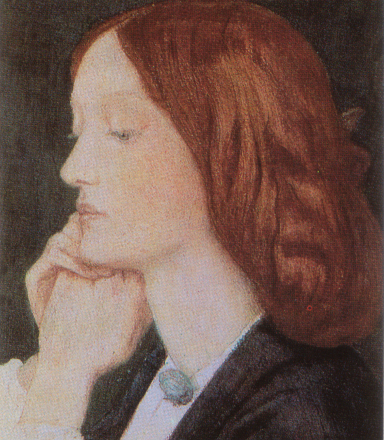 Portrait of Elizabeth Siddal, 1854