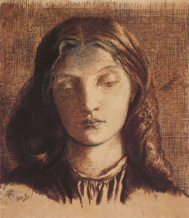 Portrait of Elizabeth Siddal, 1855