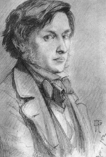 Portrait of Ford Madox Brown, 1852