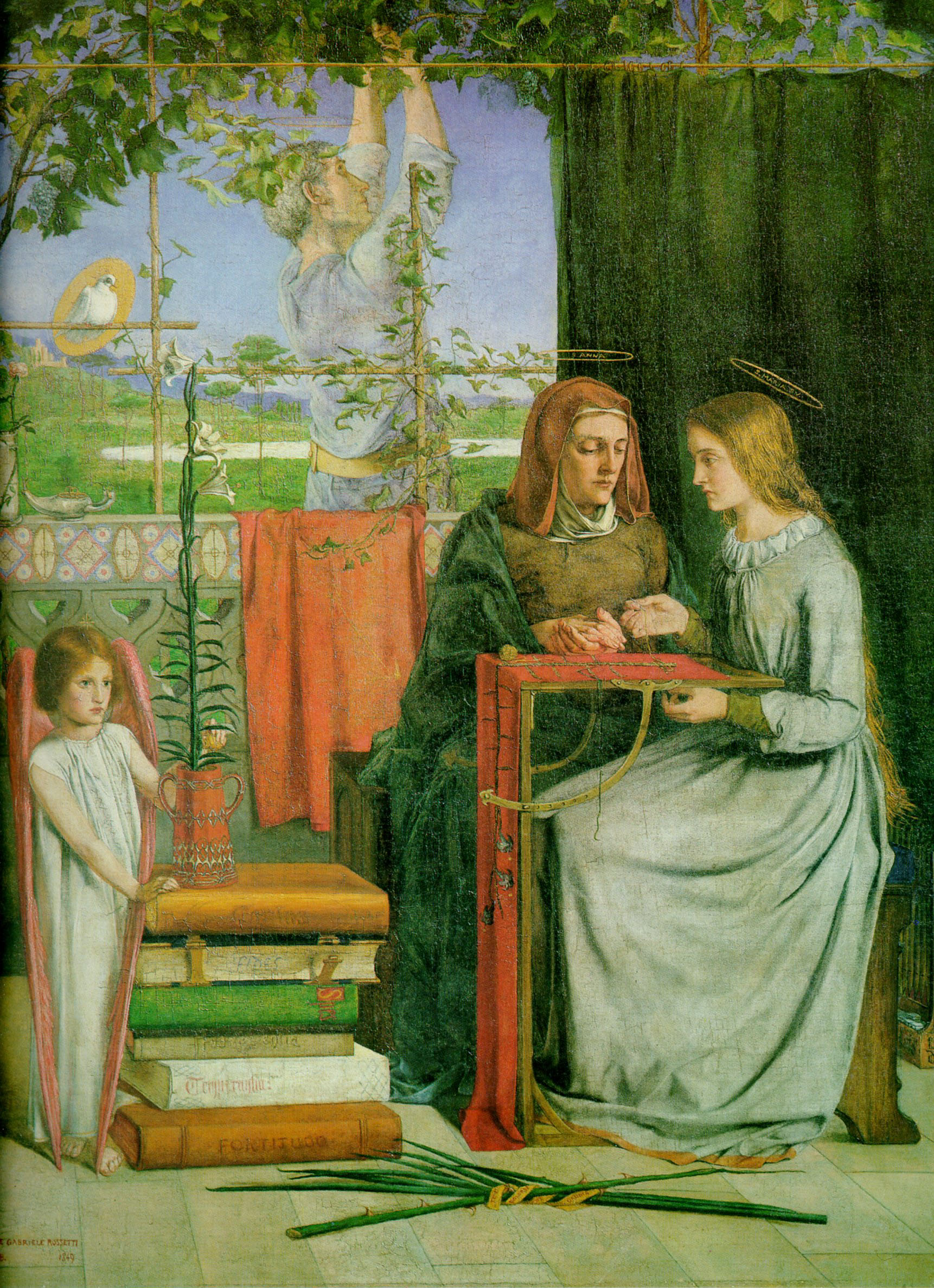 The Childhood of Mary Virgin, 1848-1849