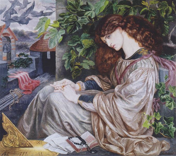 ThePiaofTolomei, 1868 - 1880 - Dante Gabriel Rossetti