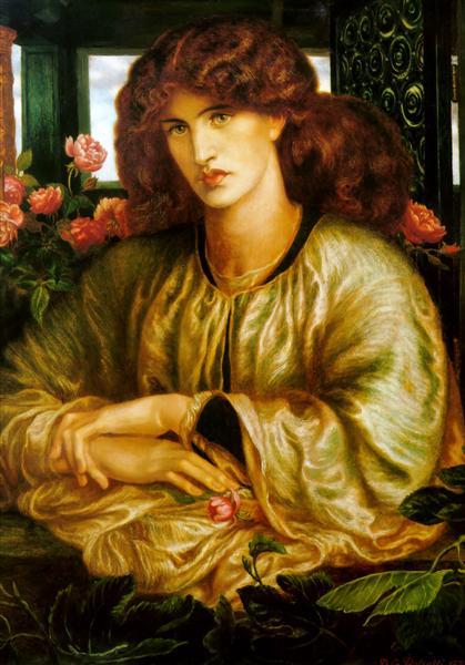 TheWomen'sWindow, 1879 - Dante Gabriel Rossetti