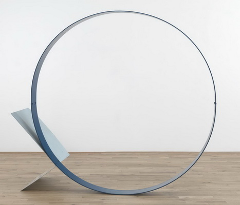 Narrow Blue Circle, 1966 - David Annesley