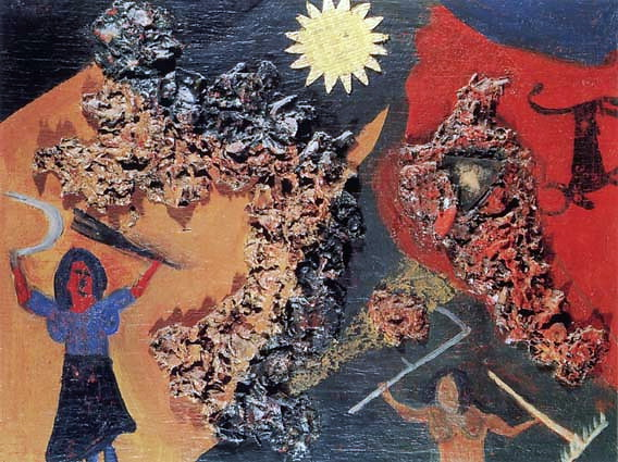 Harvesting, 1915 - David Burliuk