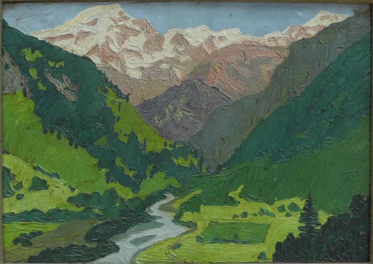 Imereti, 1915 - David Kakabadze