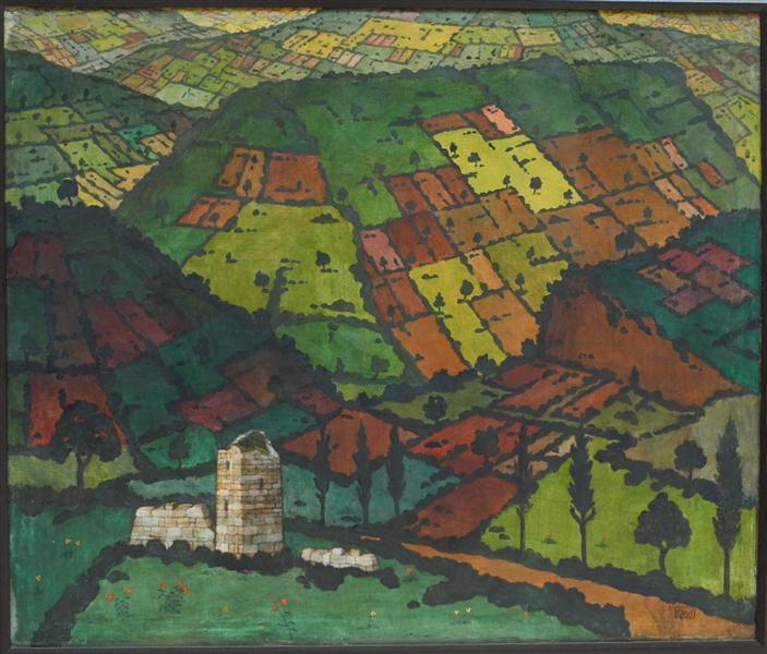 Imereti, 1917 - David Kakabadze