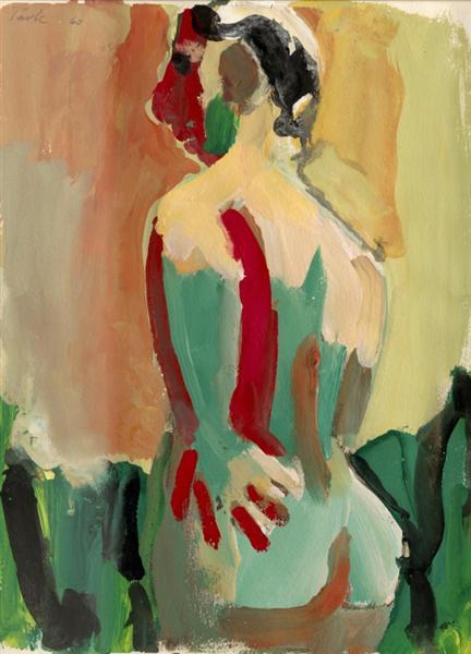 Back of Nude, 1960 - David Park