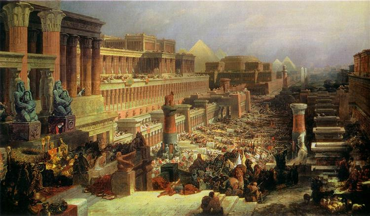 Departure of the Israelites - David Roberts