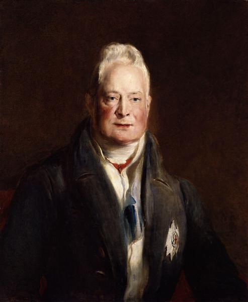 Portrait of King William IV (1765-1837), 1837 - Дейвід Вілкі