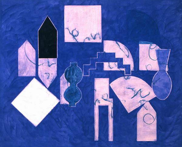 Blu Lascaux, 1999 - Denise Green