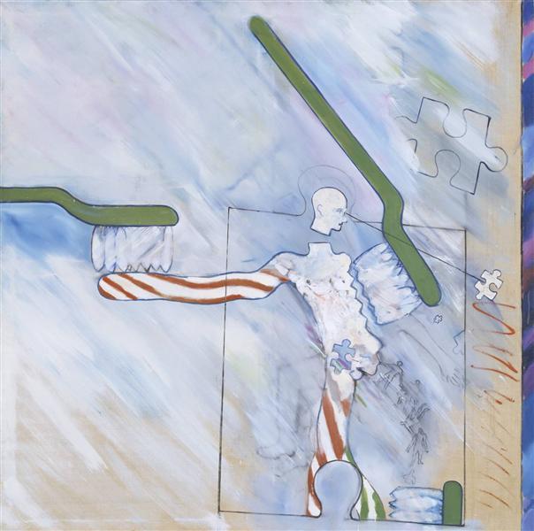 The Identi-Kit Man, 1962 - Derek Boshier