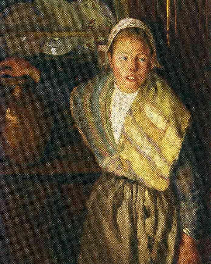 Breton Girl, 1910