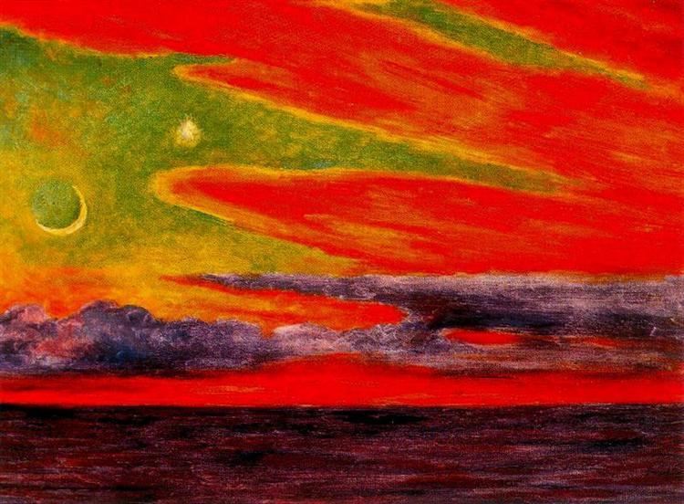 Evening Twilight at Acapulco - Diego Rivera