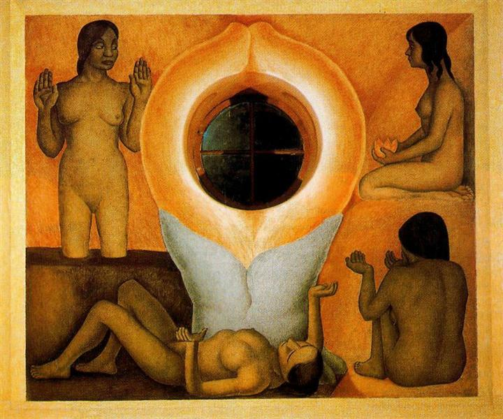 Maturation, 1926 - 1927 - Diego Rivera