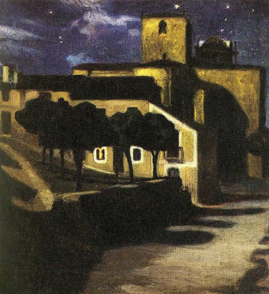 Night Scene in Avila, 1907
