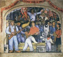 The Arsenal - Diego Rivera