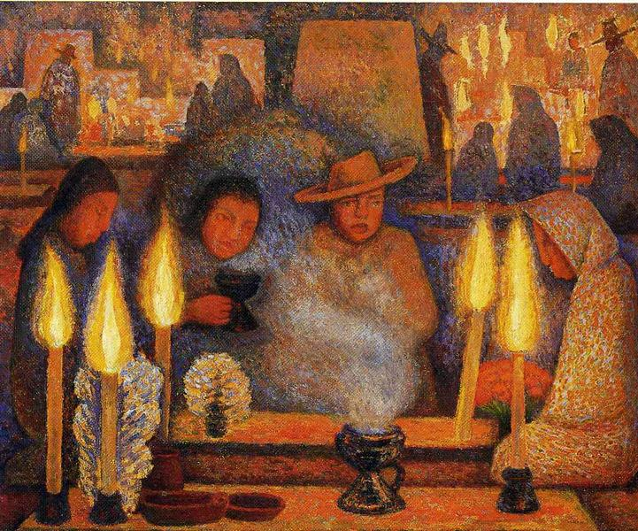 The Day of the Dead, 1944 - Diego Rivera