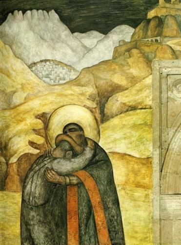 The Embrace - Diego Rivera