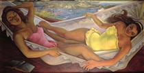 The Hammock - Diego Rivera