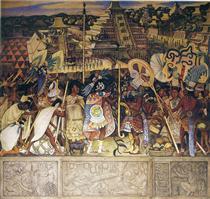 Totonac Civilization - Diego Rivera