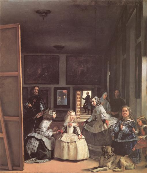Las Meninas, 1656 - Diego Velazquez