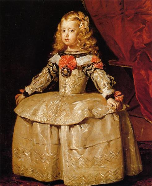 Portrait of the Infanta Margarita Aged Five, 1656 - Дієго Веласкес