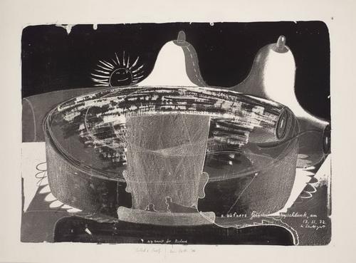 Big Tardt for Richard, 1972 - Dieter Roth