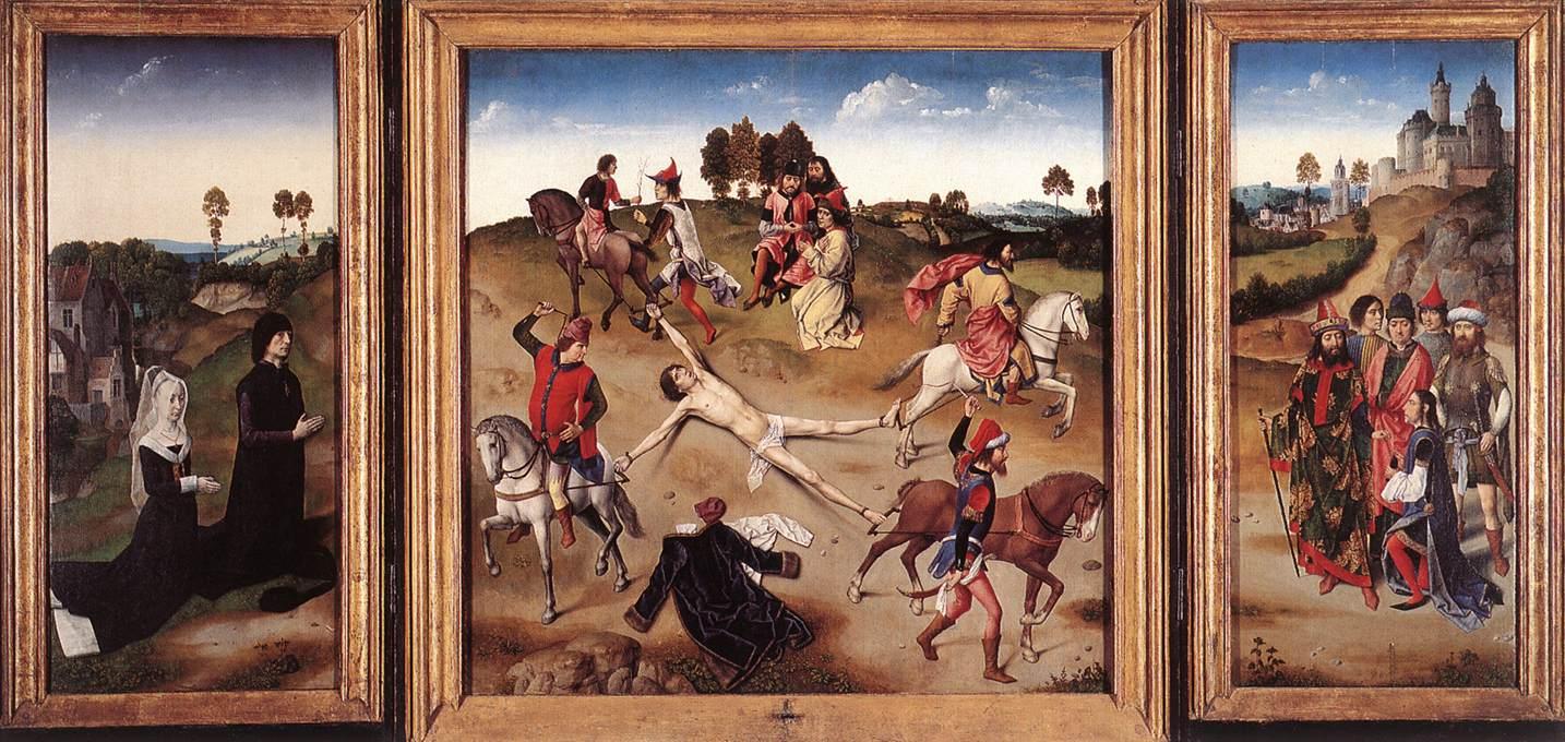 St. Hippolytus Triptych, 1470-1475