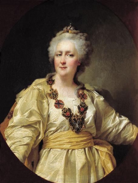 Portrait of Catherine II of Russia, 1794 - Dmitry Levitzky