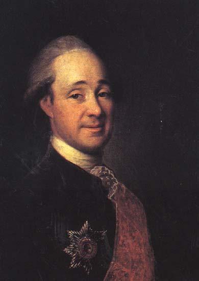 Prince Mikhail Shcherbatov, 1781 - Dmitry Levitzky
