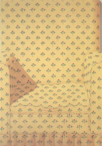 Armchair, 1968 - Domenico Gnoli