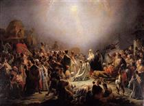 The Worship of the Mages - Domingos de Sequeira