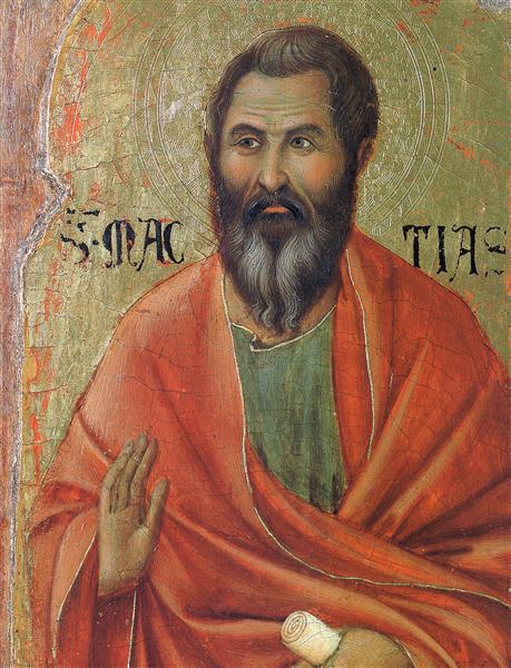 Apostle Matthias, 1308 - 1311 - Duccio