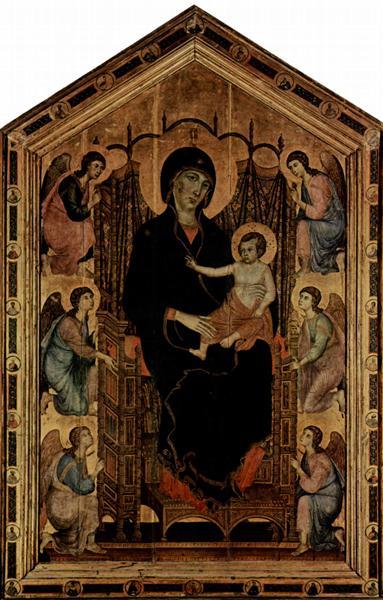 Madonna Rucellai, 1285 - Duccio