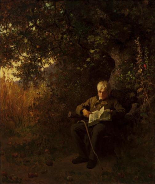 October, 1873 - Eastman Johnson