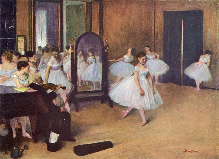 Dance Class, 1871 - Edgar Degas