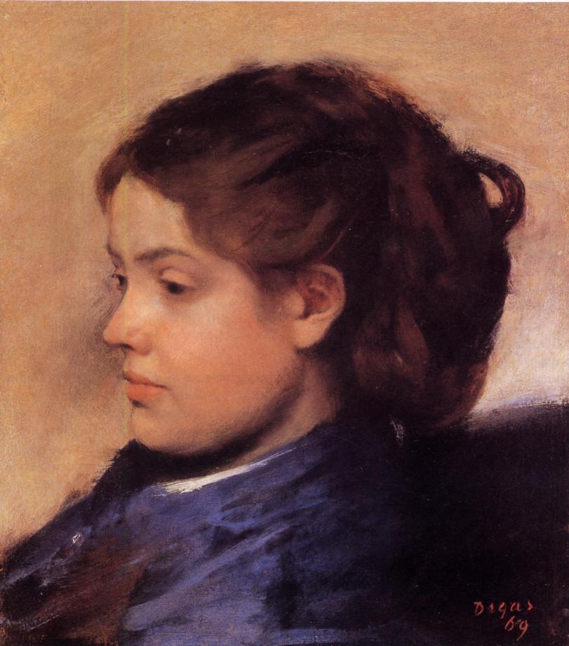 Emma Dobigny, 1869 - Edgar Degas - WikiArt.org