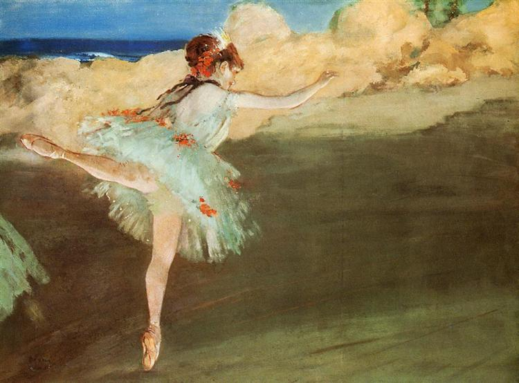 The Star - Dancer on Pointe, c.1877 - c.1878 - Edgar Degas