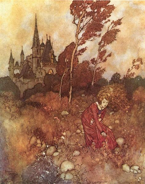 The Wind's Tale - Edmund Dulac
