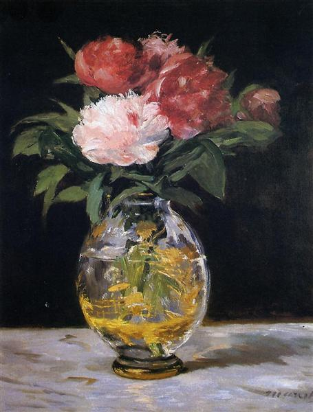 Bouquet of flowers, 1882 - Эдуард Мане
