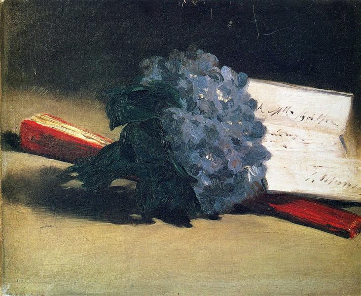 Bouquet of violets, 1872 - Edouard Manet