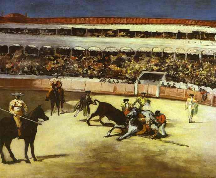 Bull-fighting scene, 1866 - Edouard Manet